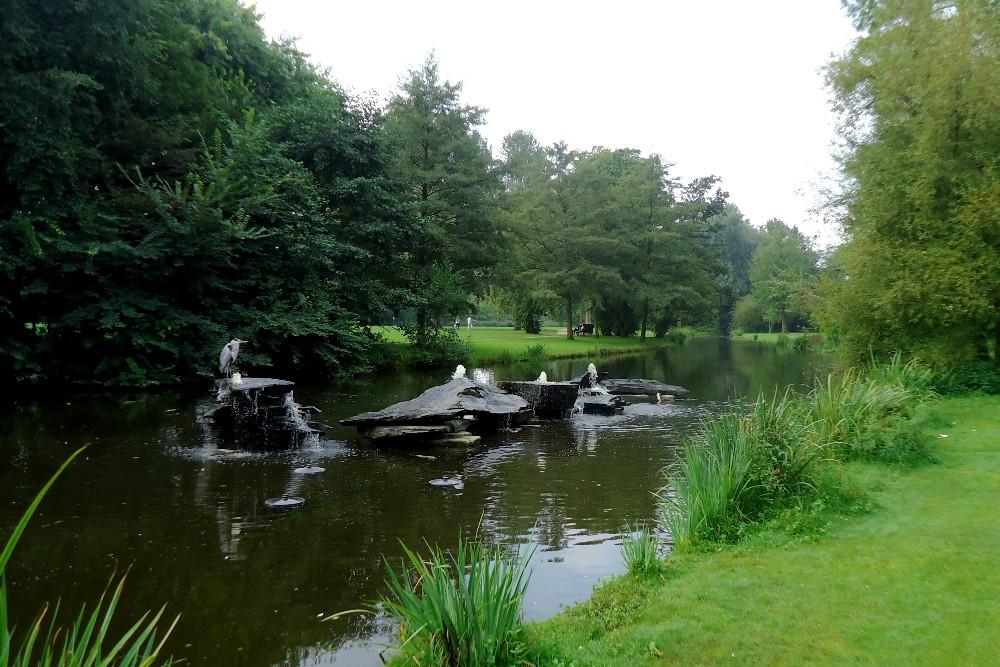 Anatre e laghetti nel Vondelpark di Amsterdam in Olanda