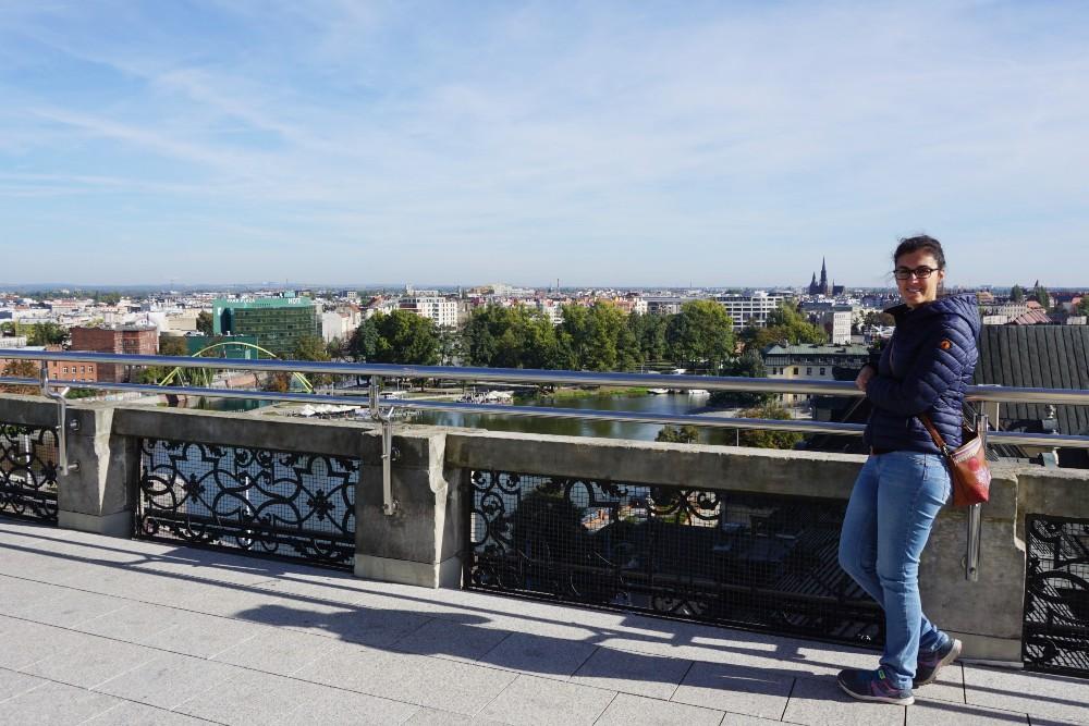 Organizzare un weekend in Polonia: veduta di Breslavia (Wroclaw) dalla Torre Matematica dell'Università