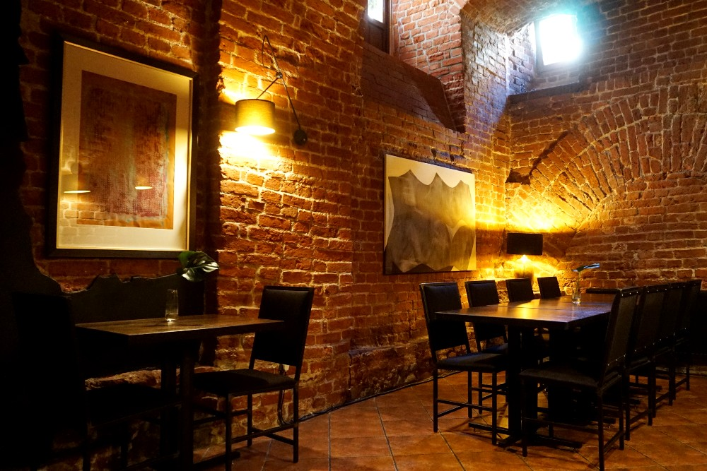Dove mangiare a Breslavia (Wroclaw): interni di Restauracja Lwia Brama²