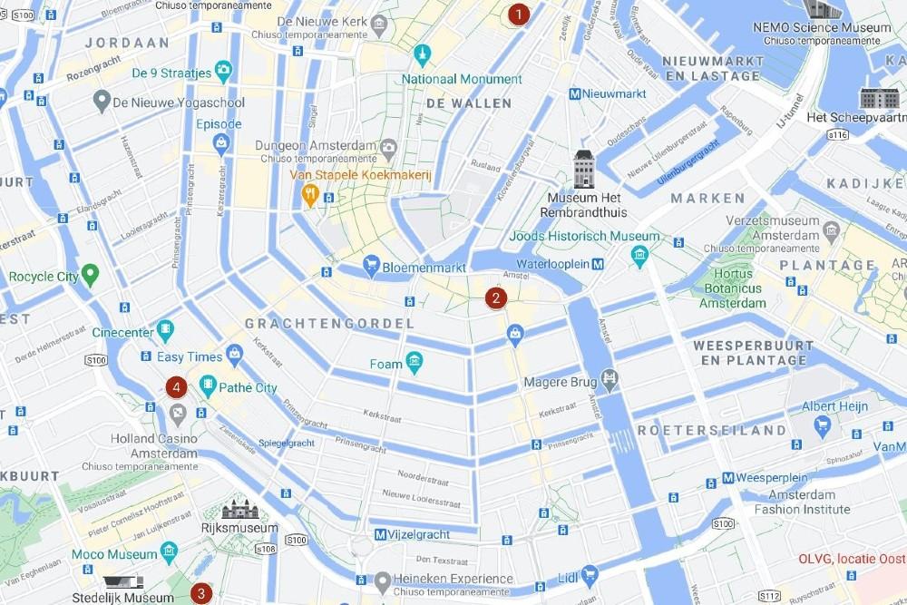 Itinerario ad Amsterdam giorno 1