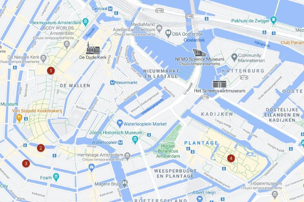 Itinerario ad Amsterdam giorno 2
