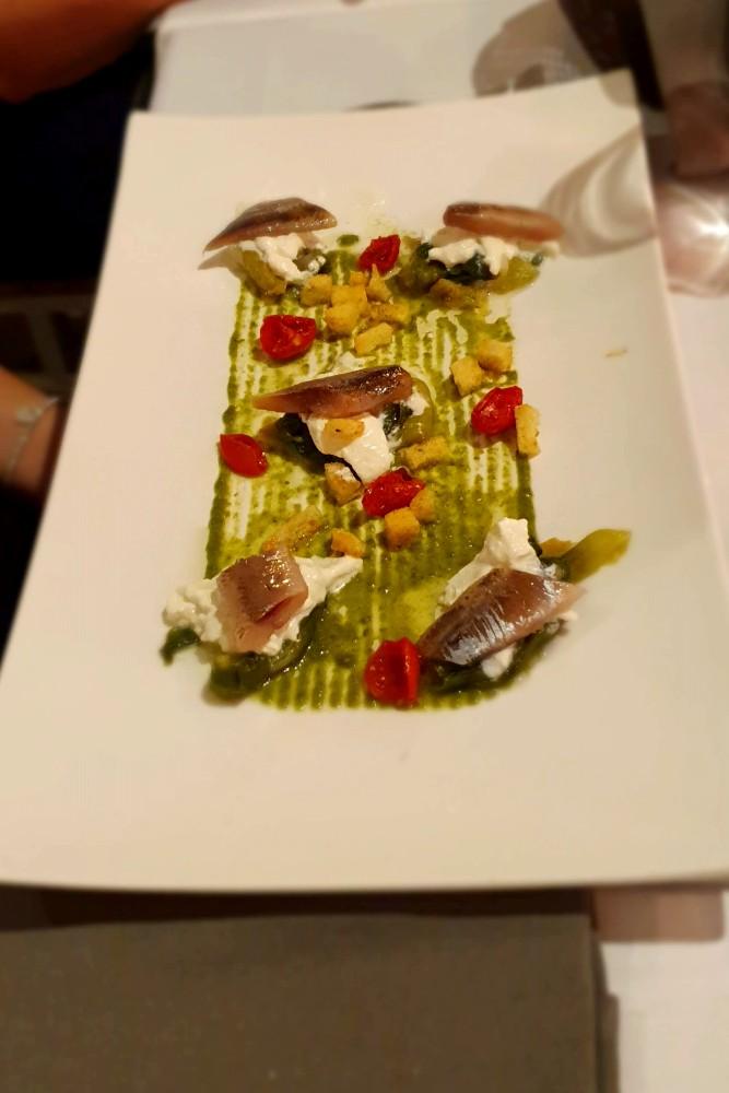 Antipasto di pesce all'Osteria Ballarò, tra i posti dove mangiare a Palermo, Sicilia