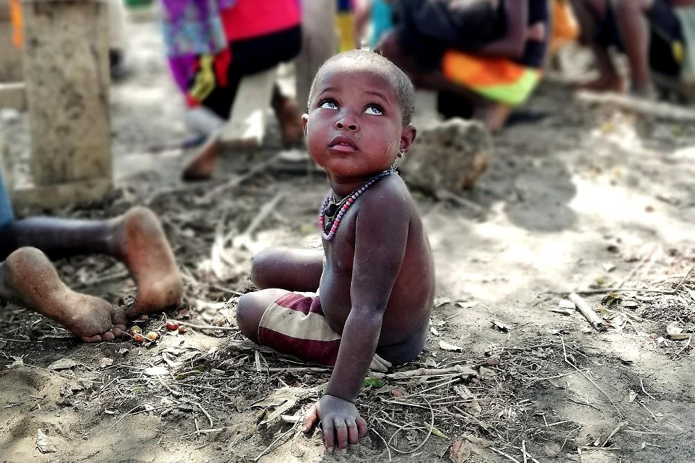 Bimbo di Bekopaka in Madagascar