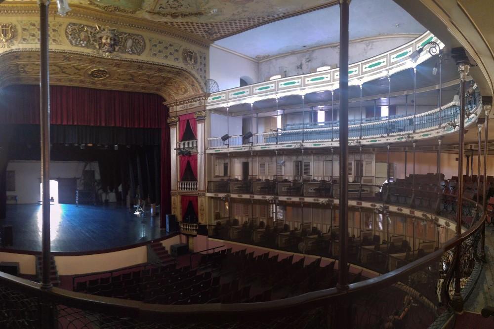 Interni del Teatro Tomás Terry a Cienfuegos a Cuba