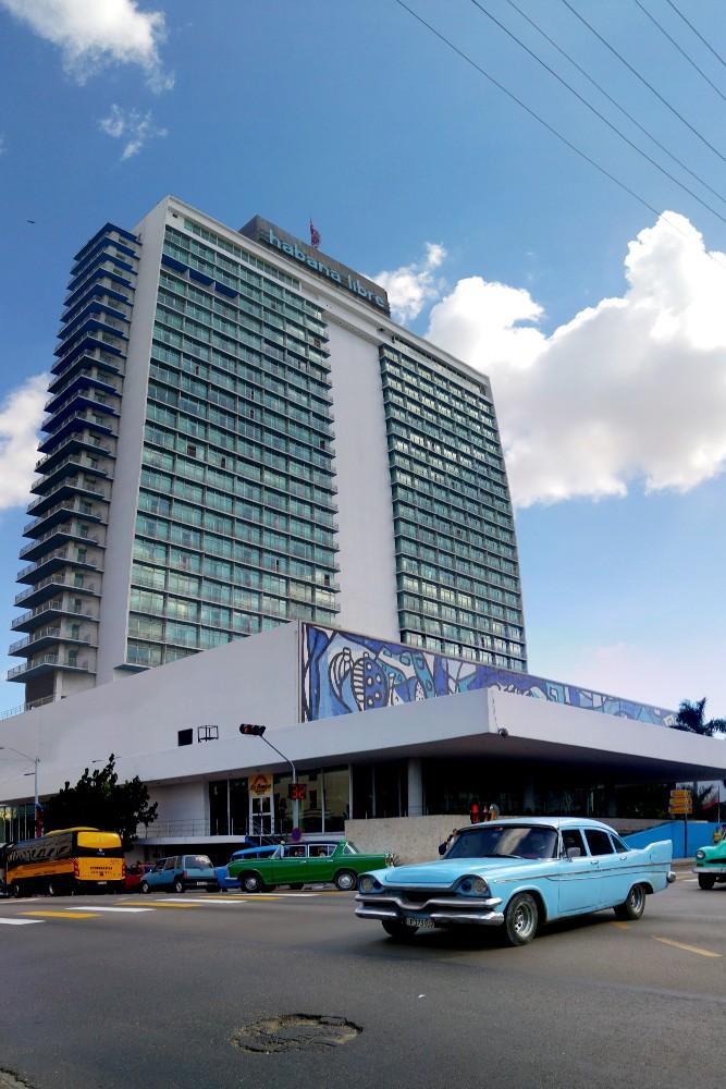 Viaggio a Cuba: Hotel Habana Libre nel quartiere di Vedado a L'Avana