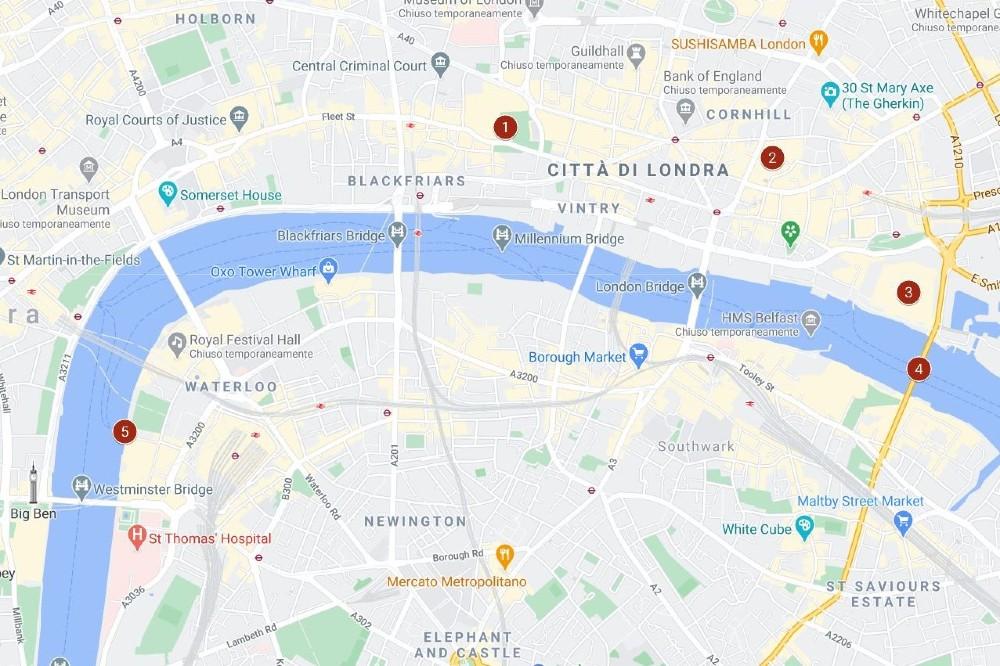 Itinerario a Londra giorno 3