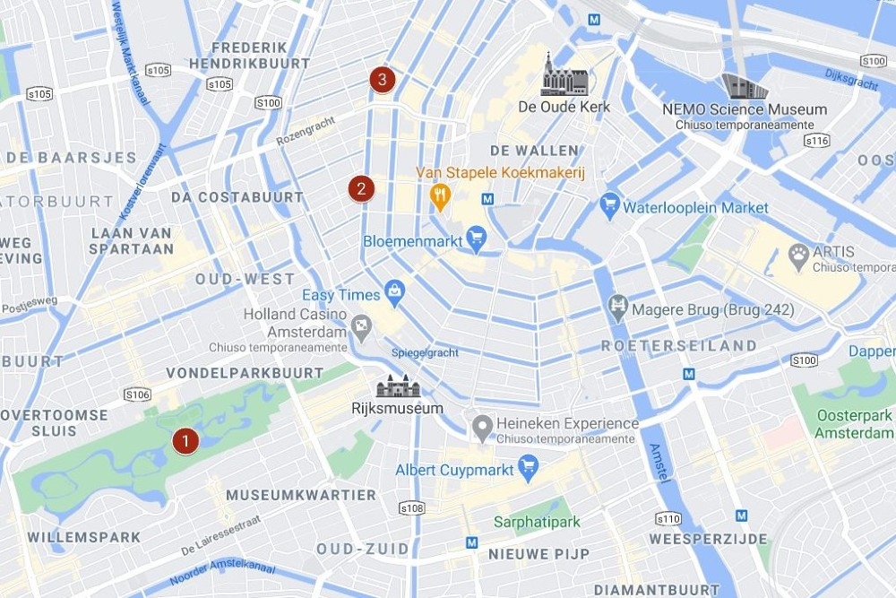 Itinerario ad Amsterdam giorno 3