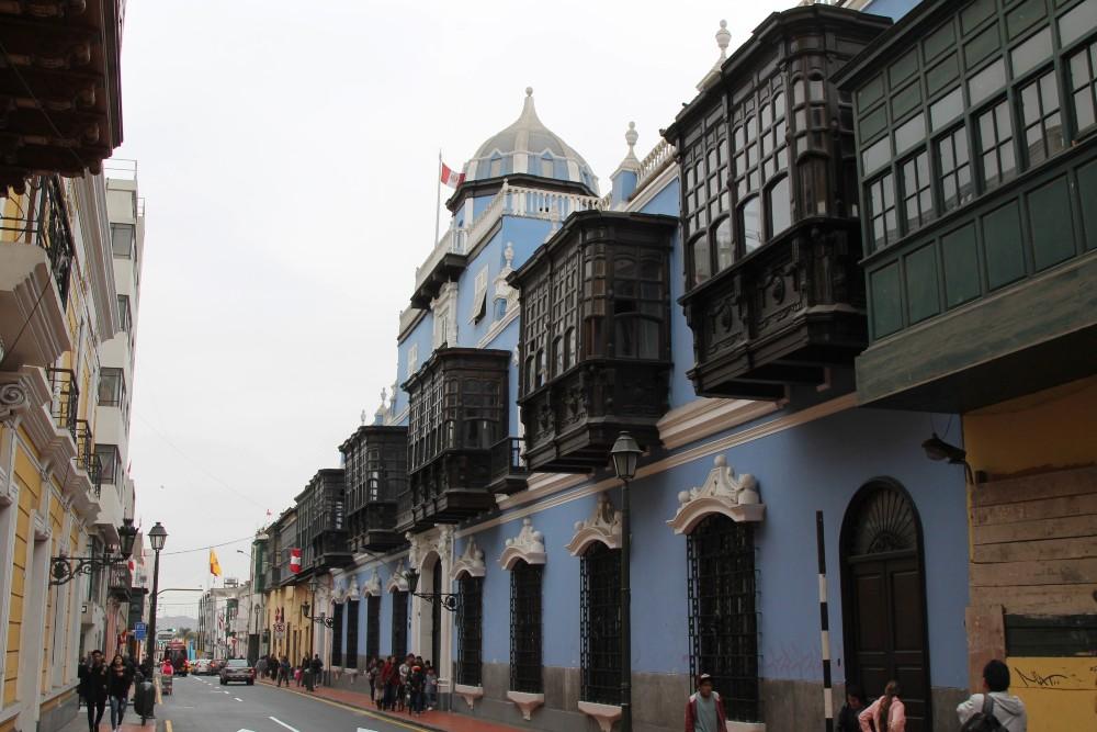Casonas Coloniales nel Centro Historico di Lima in Perù