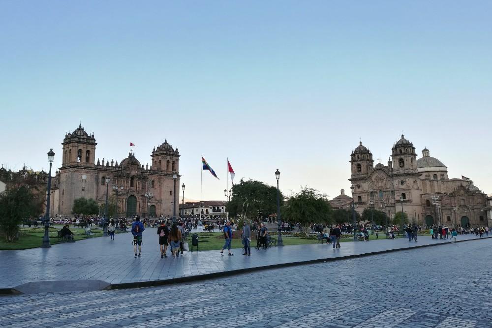 Viaggio in Perù: Plaza de Armas a Cuzco