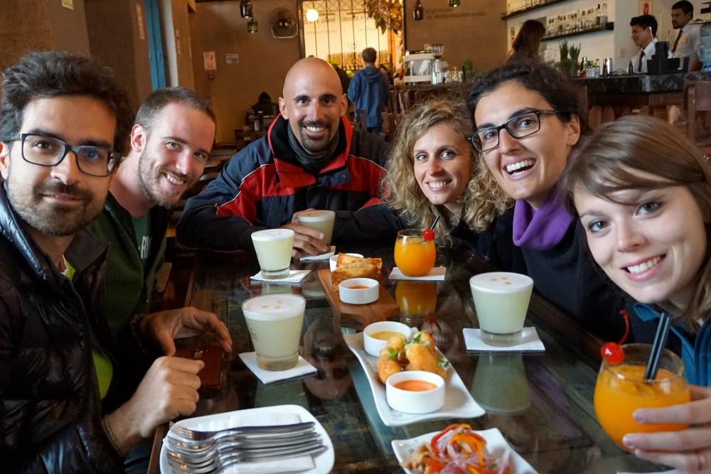 Pisco sour a Lima in Perù