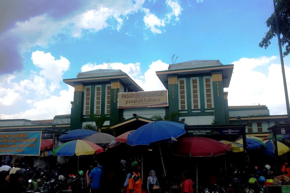 Cosa vedere a Yogyakarta: il mercato Pasar Beringharjo lungo Jalan Malioboro