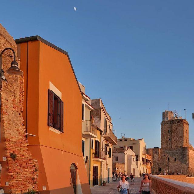 Borgo medievale di Termoli in Molise.